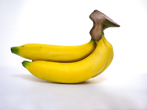 Reife gelbe bananen