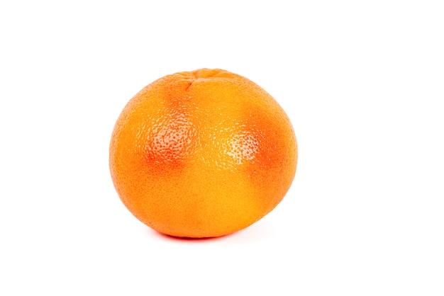 Reife grapefruit isoliert