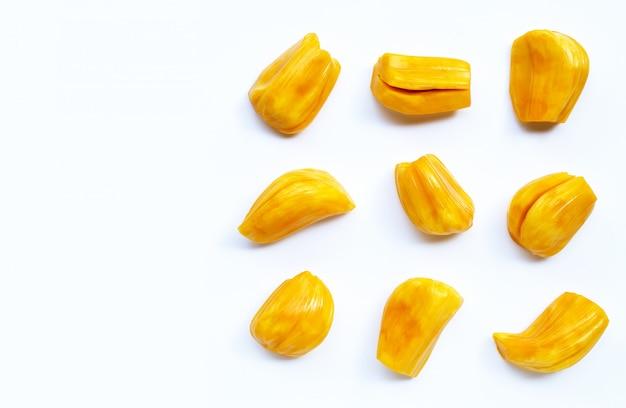 Reife jackfrucht isoliert