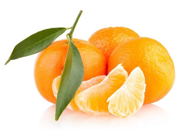 Reife mandarinen