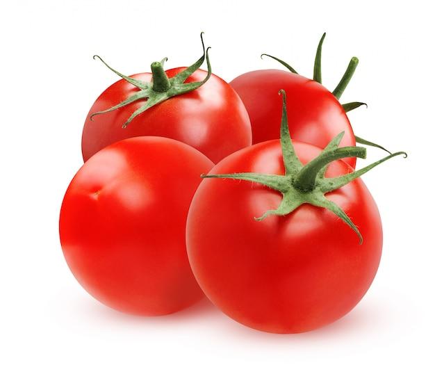 Reife tomaten isoliert