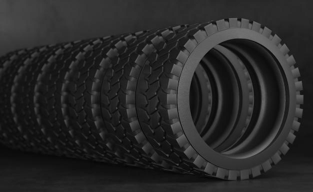 Reifen für lkw oder traktor.