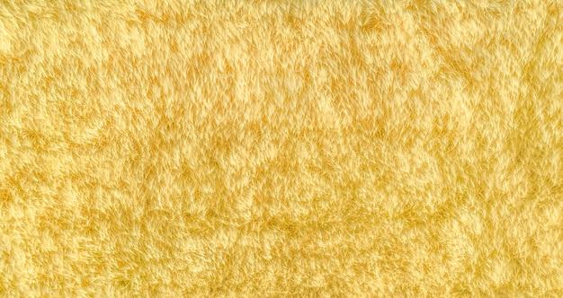 Reifes gelbes getreide in einem feld, drohnenpanorama von oben