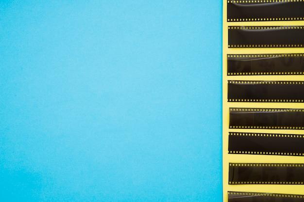 Reihe der filmbänder