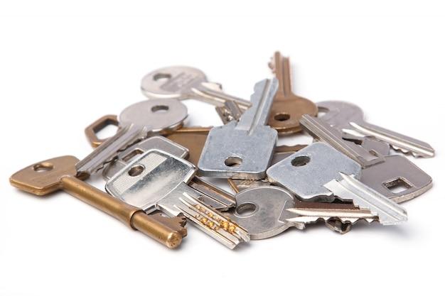 Reihe von verschiedenen schlüsseln