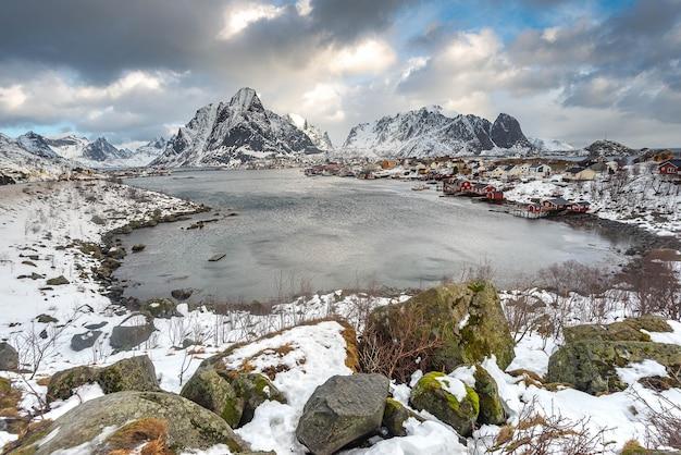 Reine auf den lofoten, norwegen