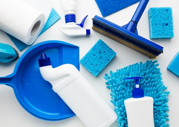 Reinigungsanlage in der draufsicht