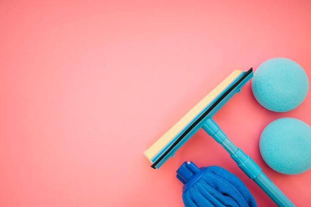Reinigungskonzept mit scheibenwischer