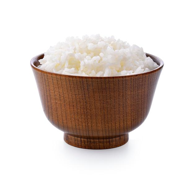 Reis in der schüssel