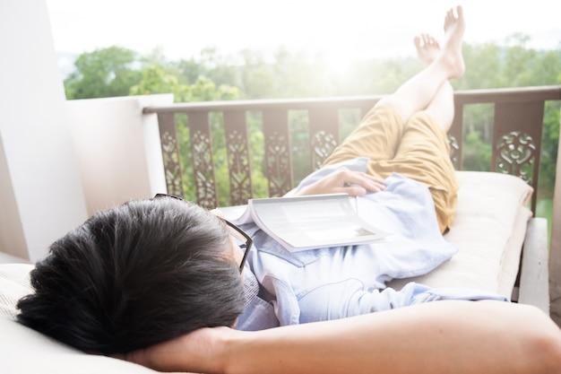 Reise- und entspannungskonzept