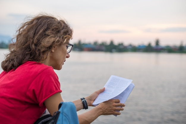 Reiseführer lesen