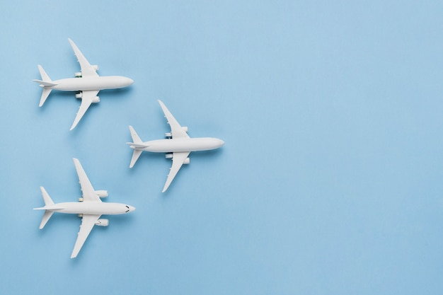 Reisekonzept mit flugzeugen
