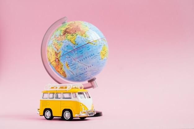Reisen mit dem auto, weltreisen, sommerferien