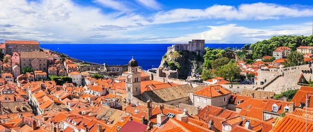 Reisen und sehenswürdigkeiten der antiken stadt dubrovnik in dalmatien
