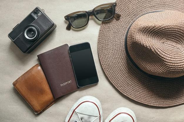 Reisende ausrüstung