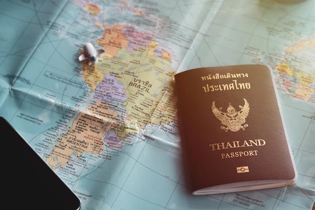 Reisendes konzeptzubehör für tourismus