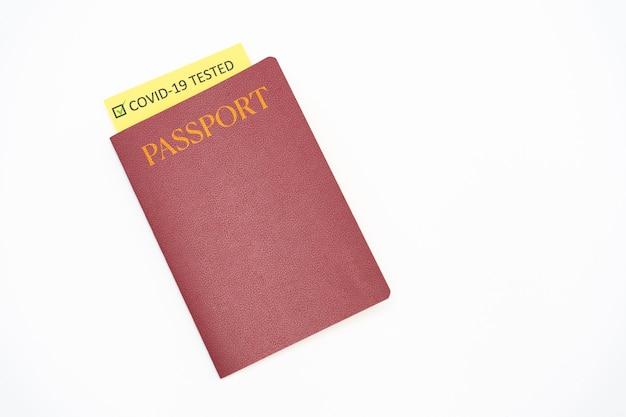 Reisepass mit impfpass für covid19