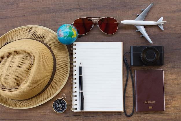 Reiseplan, reise urlaub, tourismus-modell