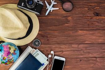 Reiseplanung für Ferien Urlaub