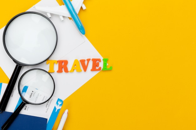 Reiseplanung konzept
