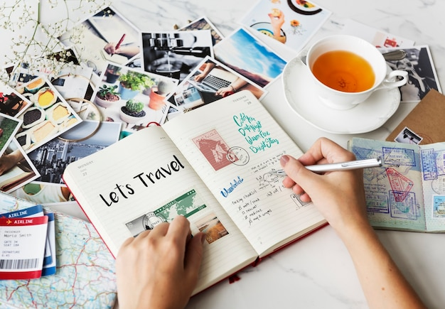 Reiseplanung reisenotizen wanderkust