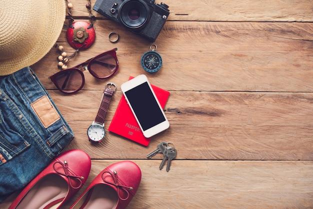 Reisezubehör und bedürfnisse