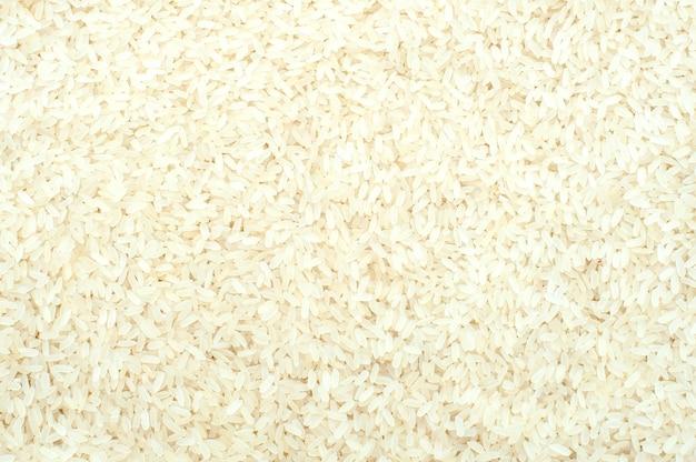 Reishintergrund. weißer gemahlener reis