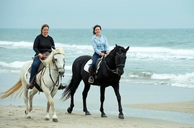 Reiter und pferde