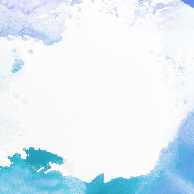 Reizender aquarellhintergrund mit exemplarplatz