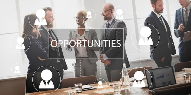 Rekrutierung einstellung karriere job beschäftigungskonzept
