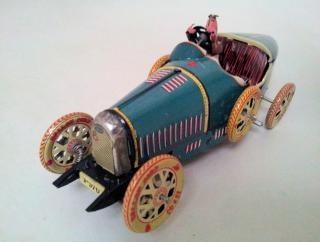 Rennwagen spielzeug metallische