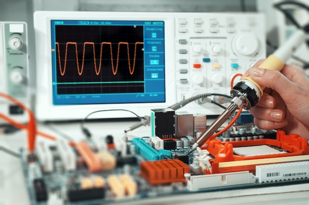 Reparatur der elektronik