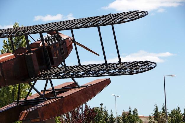 Replik-wasserflugzeugdenkmal