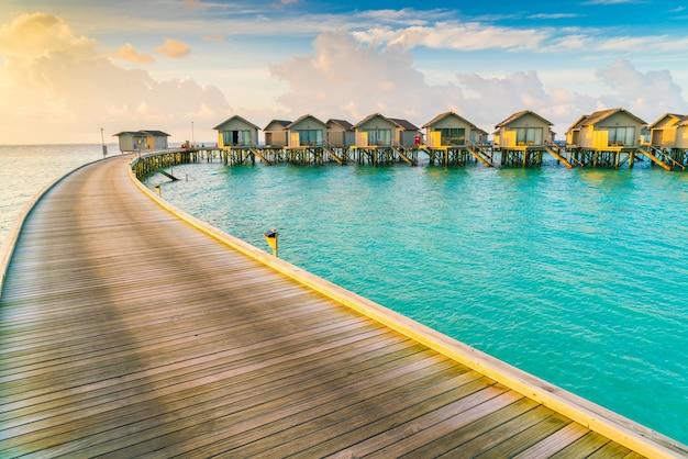 Resort himmel bucht reise exotisch