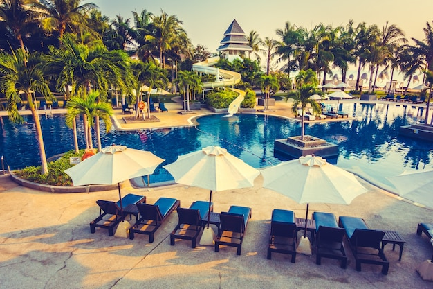 Resort sonnenuntergang reflexion sonnenaufgang reise
