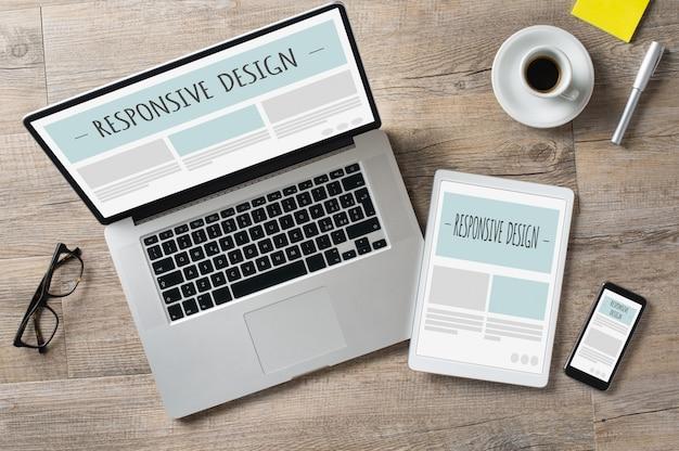 Responsive design und webgeräte