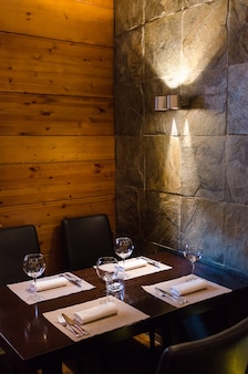 Restaurant innenansicht