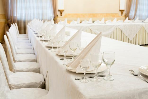 Restaurantveranstaltung bankett, hochzeit, feier