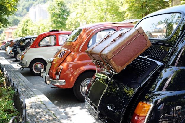 Retro autos ausstellung