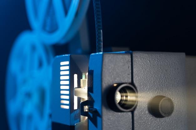Retro filmprojektor mit 8mm spulen
