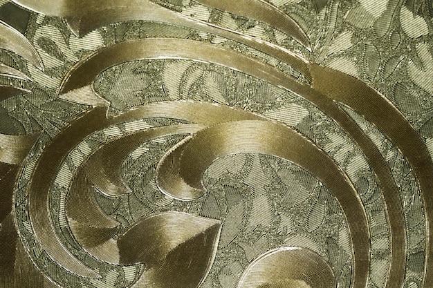 Retro-wandteppich-textilmuster-hintergrund mit glänzender textur