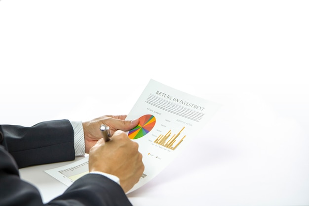 Return on investment und anlagerisikoanalyse