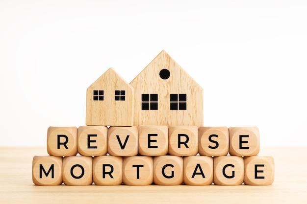 Reverse-mortgage-konzept