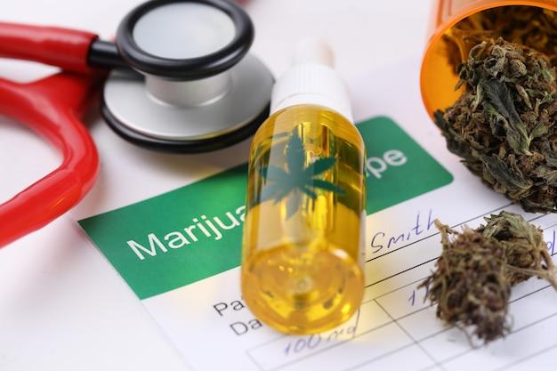 Rezept für den kauf von marihuana in der apotheke