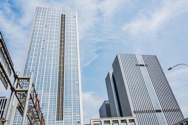 Riesen glasgebäude