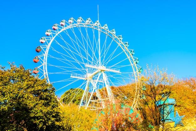 Riesenrad im park