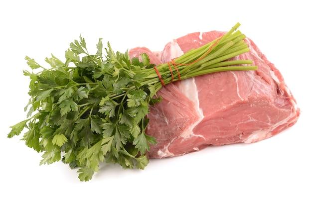 Rindfleisch mit gewürzen