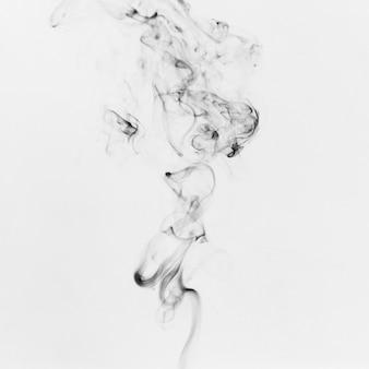 Rinnsal von schwarzem rauch