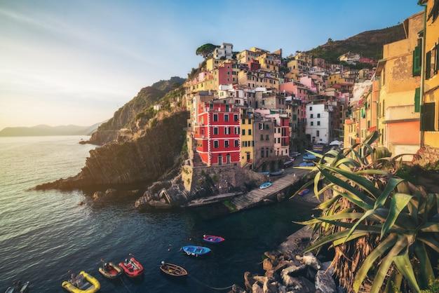 Riomaggiore, cinque terre - italien