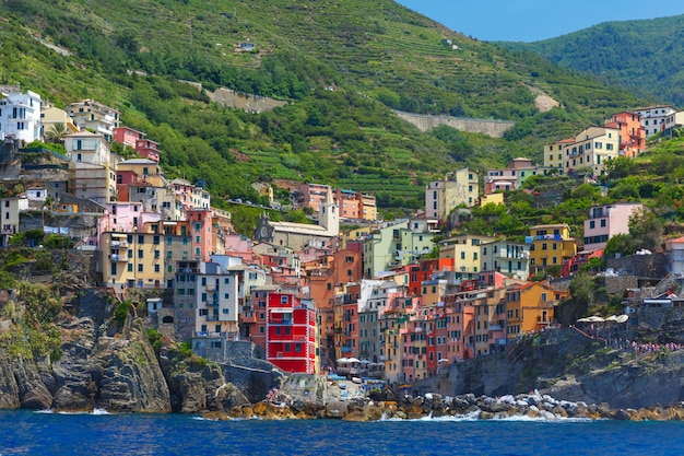 Riomaggiore, cinque terre, ligurien, italien